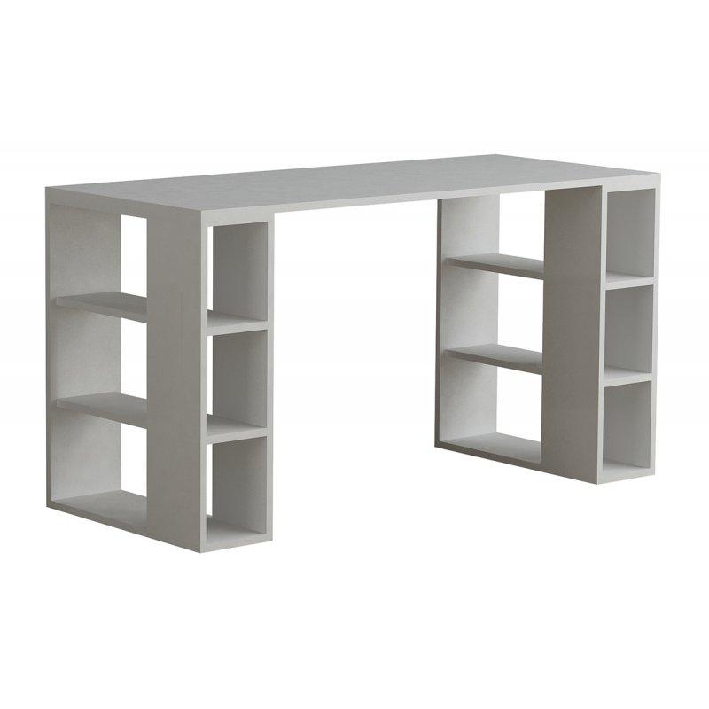 """Γραφείο εργασίας """"COLMAR"""" σε χρώμα λευκό 140x60x75"""
