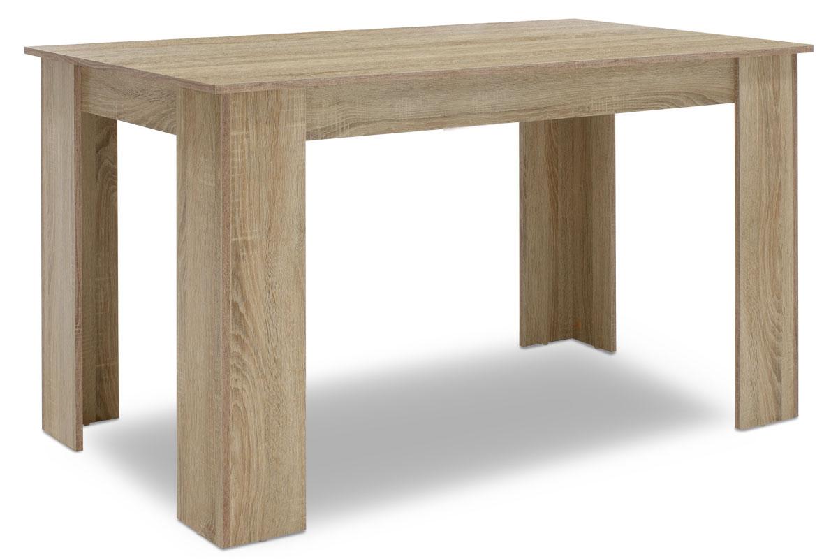 """Τραπέζι """"Jason"""" σε χρώμα sonoma 150x80x76,5"""
