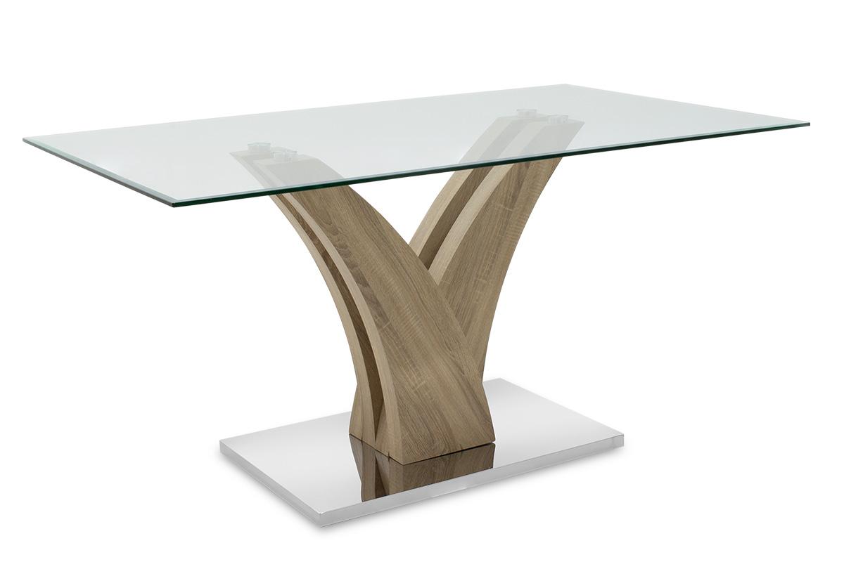 """Τραπέζι """"GULL"""" ορθογώνιο σε χρώμα σονόμα 150x90x76"""