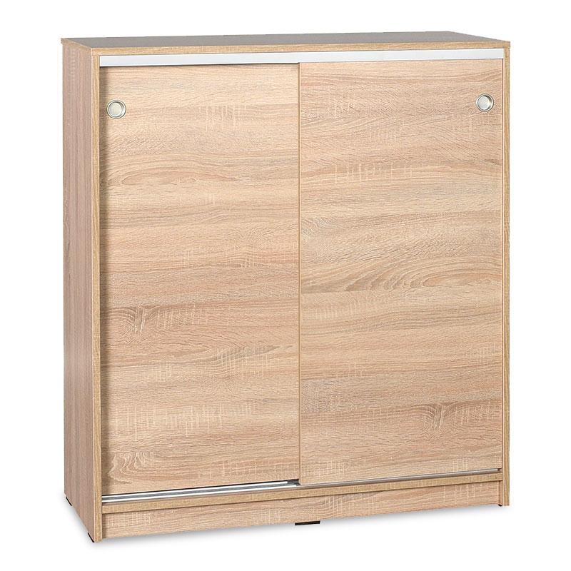 Παπουτσοθήκη ντουλάπι σε χρώμα σονόμα 91x37x105