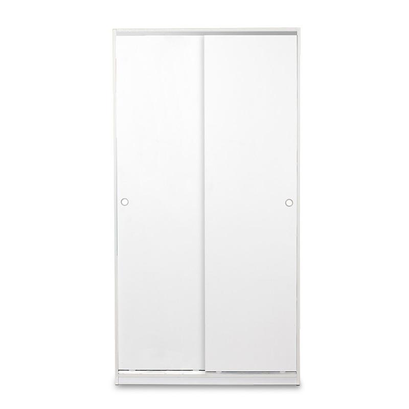 """Ντουλάπα ρούχων """"SLIDE"""" δίφυλλη σε χρώμα λευκό 94x52x182"""