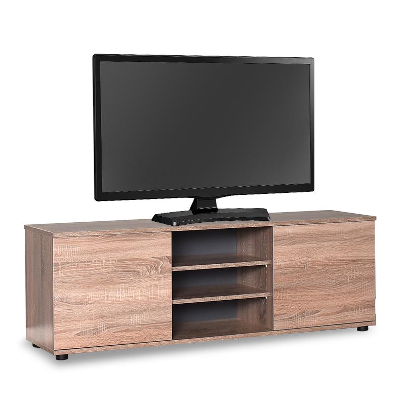 """Έπιπλο τηλεόρασης """"FLAT LINE MAX"""" σε χρώμα λάττε 140x35x48"""