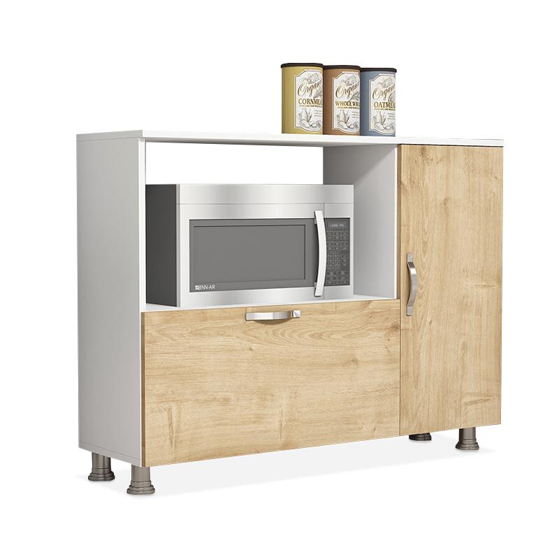 """Μπουφές-ντουλάπι κουζίνας """"KOCTAS"""" σε χρώμα φυσικό 118x35x90"""