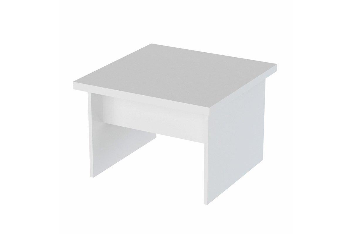 """Τραπέζι σαλονιού """"VIVID"""" πολυμορφικό σε λευκό χρώμα 70x70x48.5"""