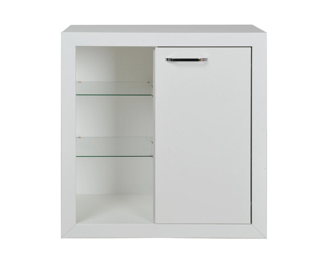 """Ντουλάπι """"COMMODE W85"""" σε χρώμα λευκό 85x42.5x90"""