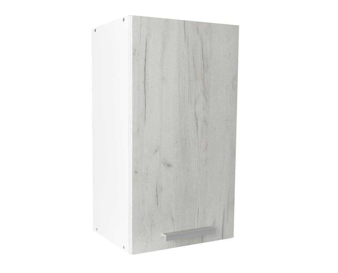 """Πάνω ντουλάπι κουζίνας """"IN"""" σε λευκό δρύς χρώμα 40x31x72"""