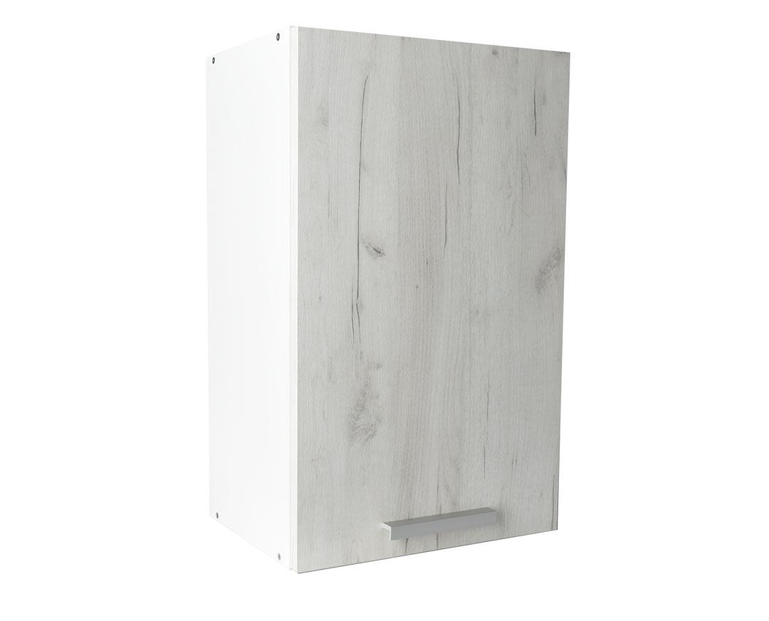"""Πάνω ντουλάπι κουζίνας """"IN"""" σε λευκό δρύς χρώμα 45x31x72"""