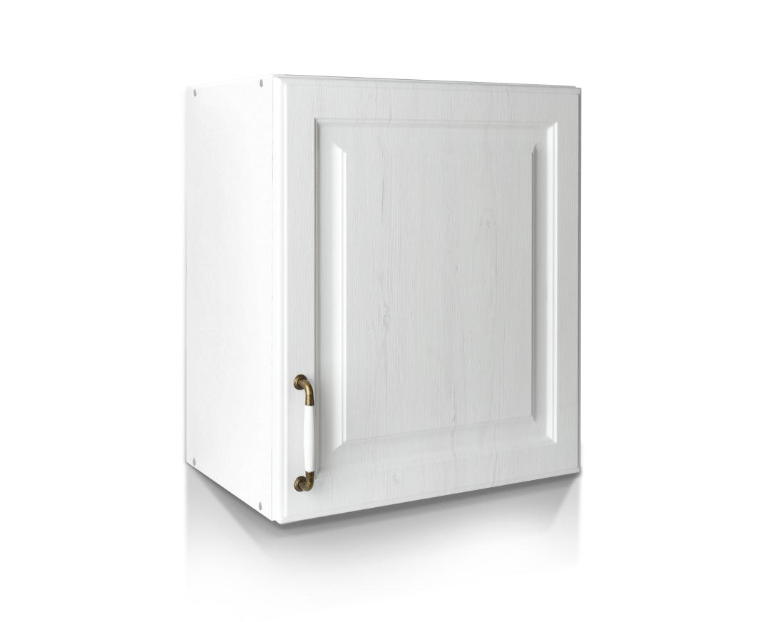 """Ντουλάπι απορροφητήρα """"RUSTIK"""" σε λευκό ρουστίκ χρώμα 50x31x57"""