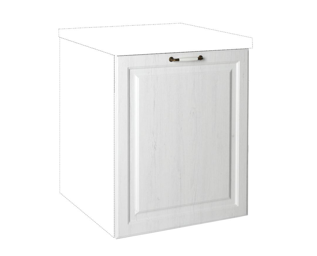 """Καλυπτικό πλυντηρίου πιάτων """"RUSTIK"""" σε λευκό ρουστίκ χρώμα 72x1,08x55"""