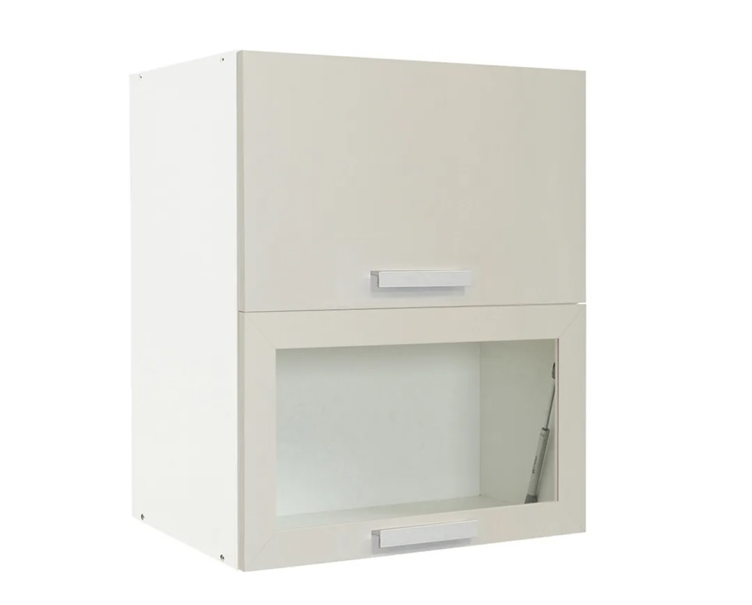 """Κρεμαστό ντουλάπι κουζίνας """"IN"""" σε χρώμα άμμου ματ 60x31x72"""