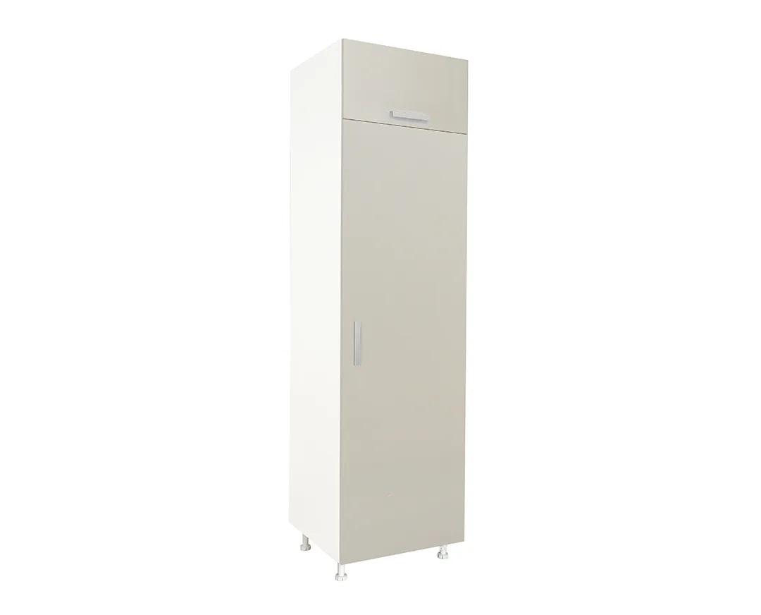 """Ντουλάπι ψυγείου """"ΙΝ"""" σε χρώμα της άμμου ματ 60x57x222"""