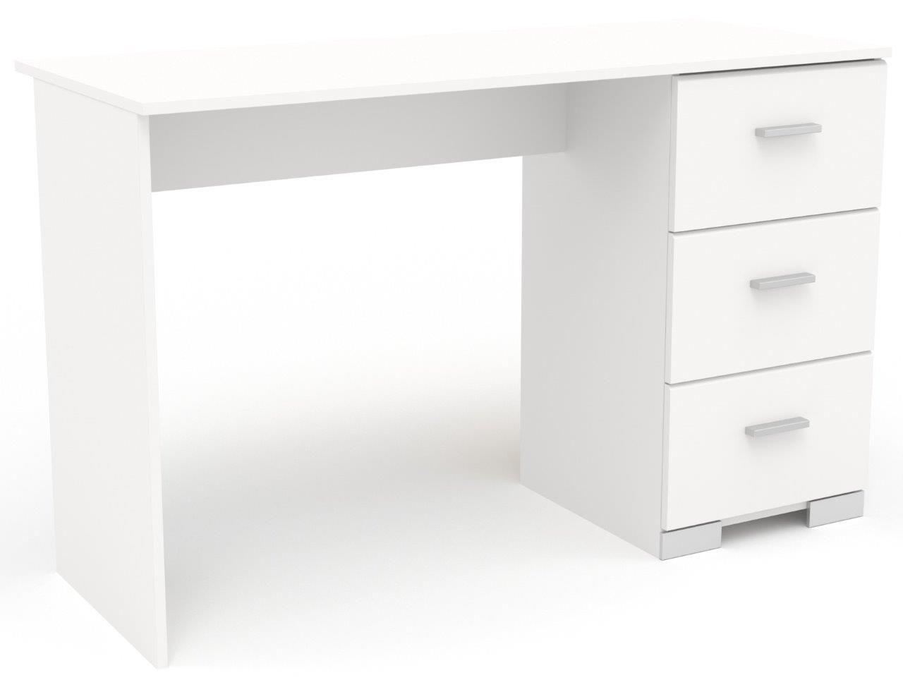"""Γραφείο εργασίας """"PIENER"""" σε λευκό χρώμα 120x50x75"""